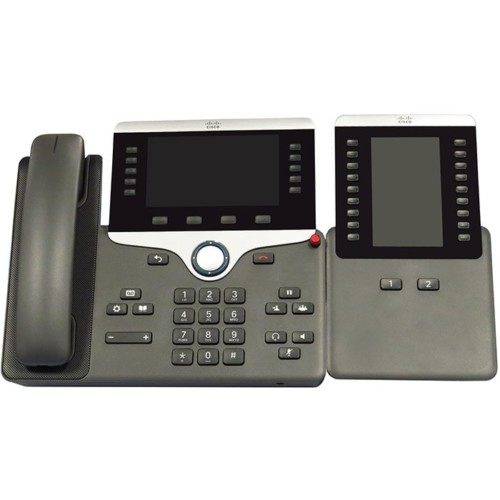 Cisco-8851-TSG-Approved-IP-Phone-with-18-36-Key-Expansion-Module CIS Secure