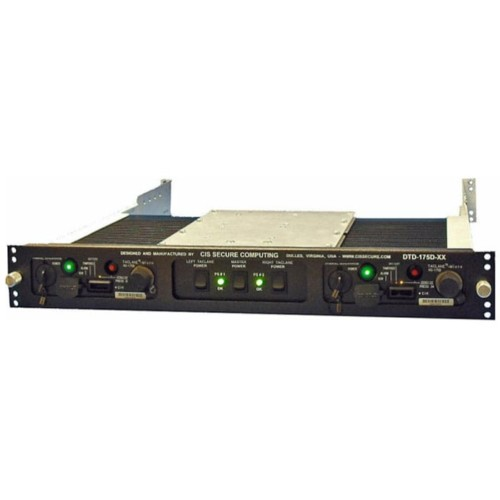 Dual KG-175D Rugged Rack Mount Enclosure CIS Secure Computing