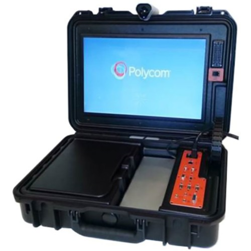 Polycom Group 500 First Responder Mobile Videoconferencing Kit CIS Secure Computing