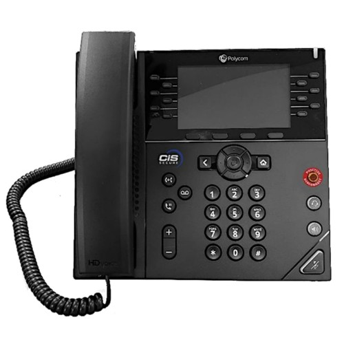 Polycom VVX450 TSG Approved IP Phone CIS Secure Computing
