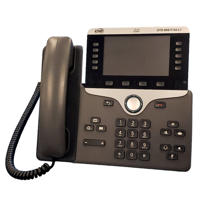 TEMPEST Cisco 8841 VoIP Phone CIS Secure Computing