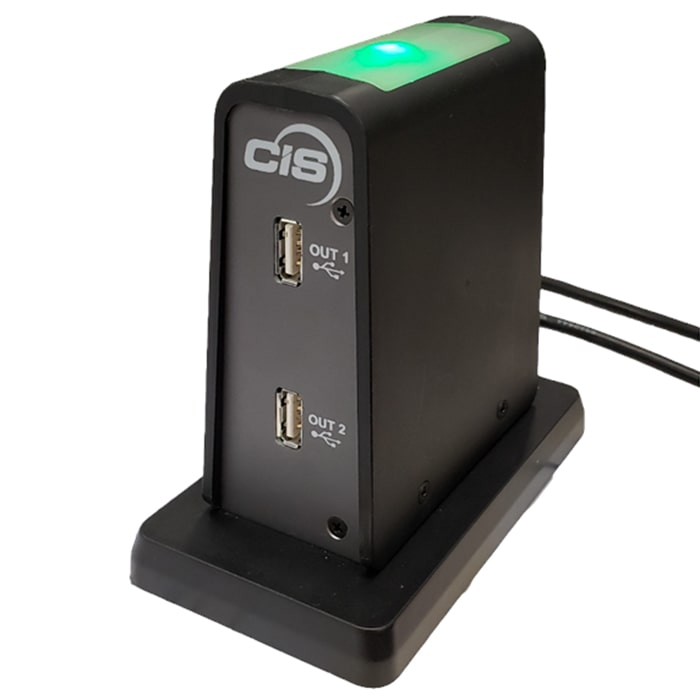 TSG Approved Dual USB Positive Disconnect CIS Secure Computing