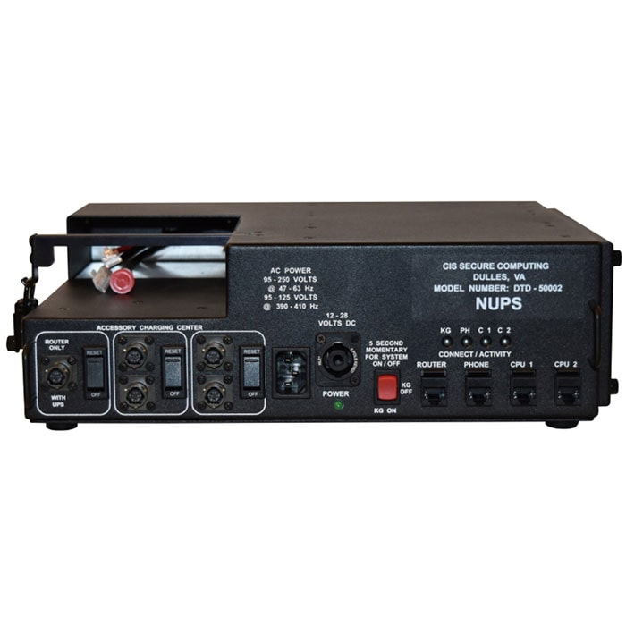 Tactical Universal Power Network UPS Module CIS Secure Computing