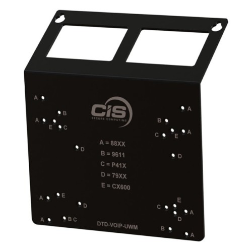 Universal Wall Mount for CIS Phones CIS Secure Computing